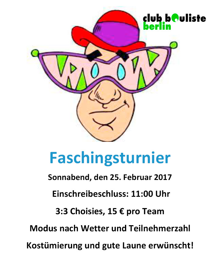faschingsturnier